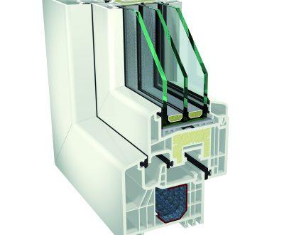 Plastikiniai langai – Gealan S 7000 IQ Plus