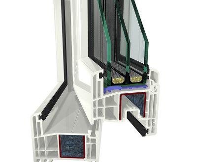 Plastikiniai langai – Gealan S 8000 IQ